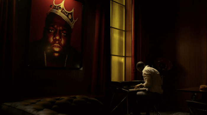 Cottonmouth at his piano, as seen om Marvel's Luke Cage