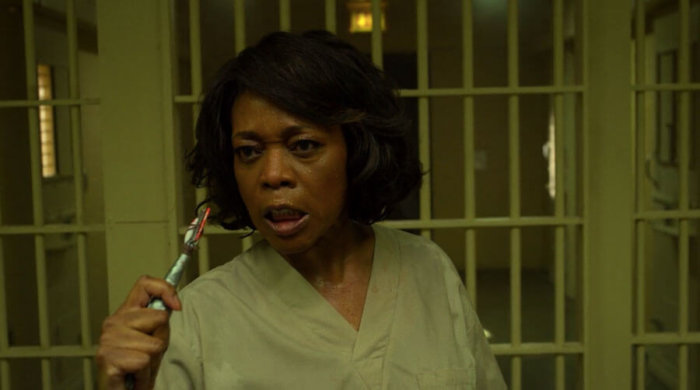 Mariah kills a fellow inmate, as seen in the final episode of Luke Cage, season two