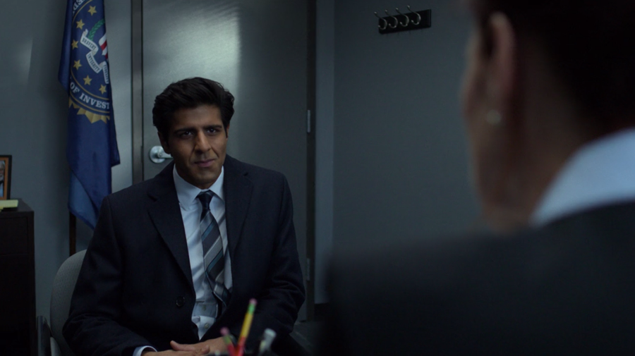 Ray Nadeem meeting with his boss, as seen on Marvel's Daredevil season three, episode one.