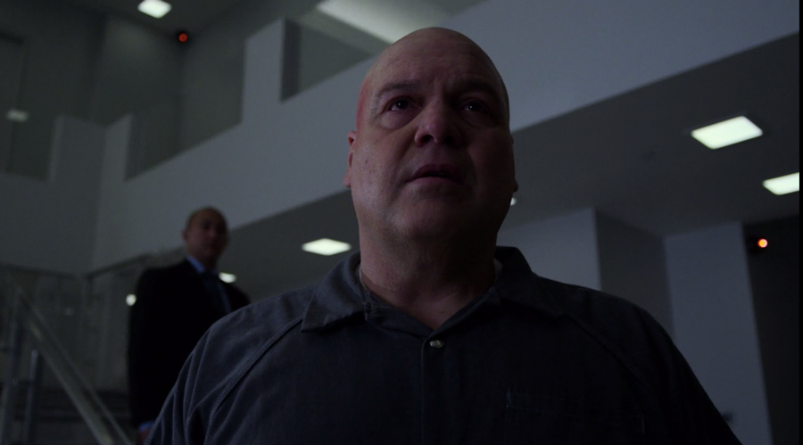 Fisk checks out his new digs, as seen in Marvel's Daredevil, season three episode three