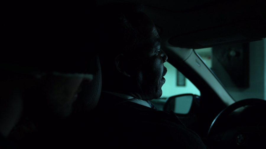 Matt shows up in the backseat of Ben Donovan's car, as seen in Marvel's Daredevil, season three episode three