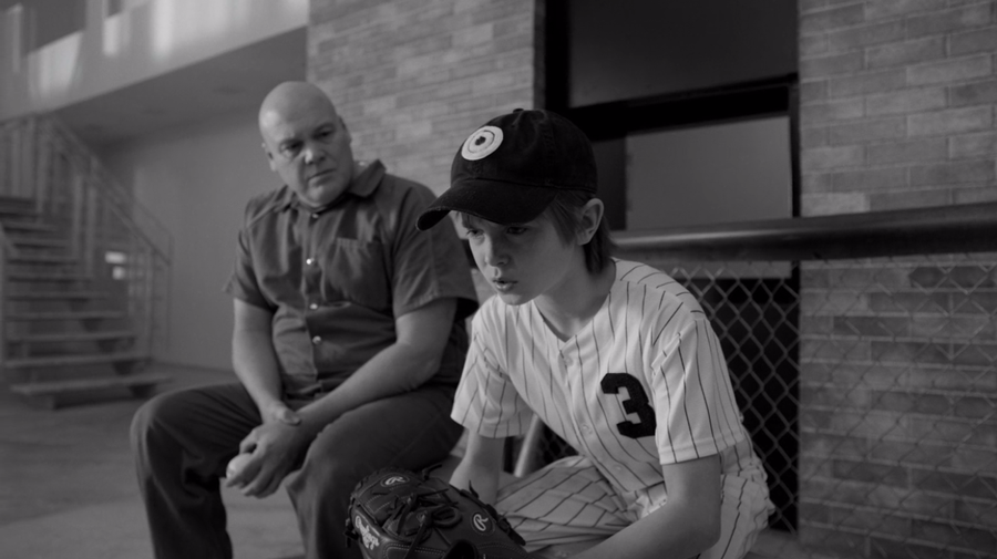 Fisk studies young Dex who's been benched, as seen on Marvel's Daredevil season 3, episode 5