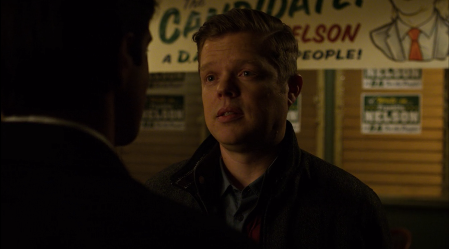 Ray and Foggy at Nelson's Meats, as seen on Marvel's Daredevil season 3, episode 5