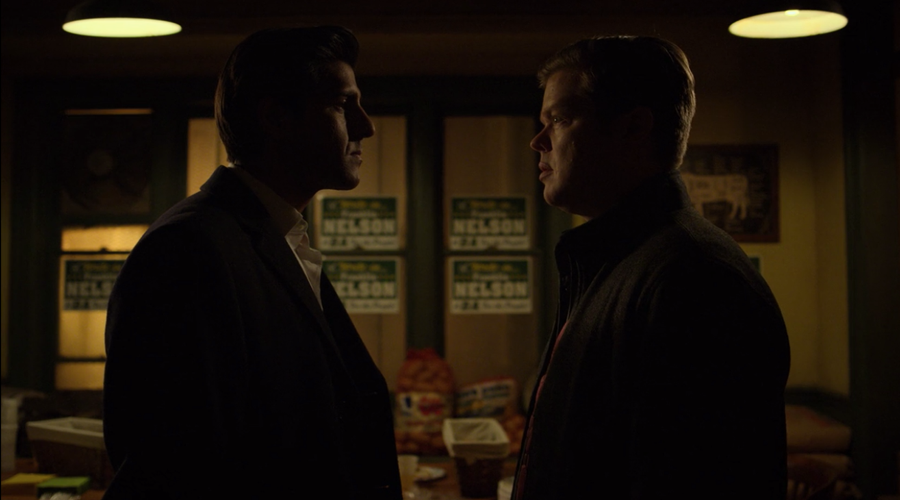 Ray and Foggy confront each other, as seen on Marvel's Daredevil season 3, episode 5