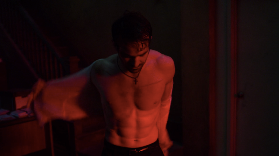 Matt undresses in his apartment, as seen on Marvel's Daredevil season 3, episode 5